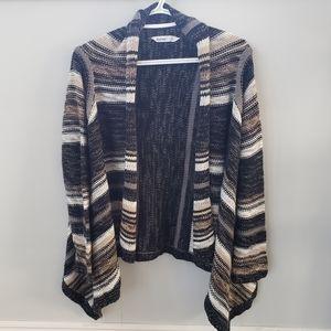 Bluenotes open knit cardigan sweater 🍂